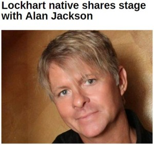 Monty Lane Allen Shares Stage with Alan Jackson